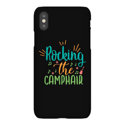 Rocking The Camphair Iphonex Case Designed By Palm Tees