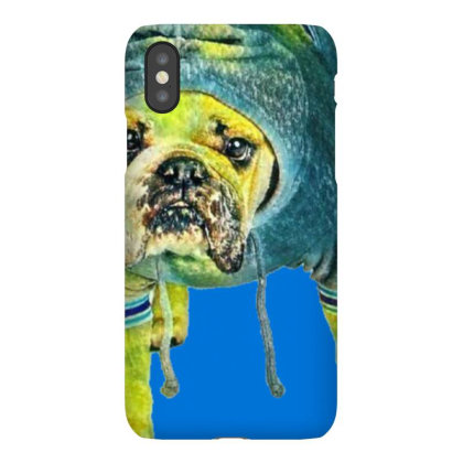 Funny Photo Of A Bulldog Bree Iphonex Case Designed By Kemnabi