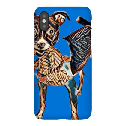 Cute And Playful Small Terrie Iphonex Case Designed By Kemnabi