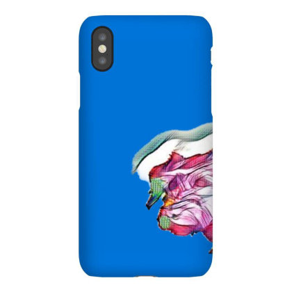 Image Of The Back Of The Head Iphonex Case Designed By Kemnabi