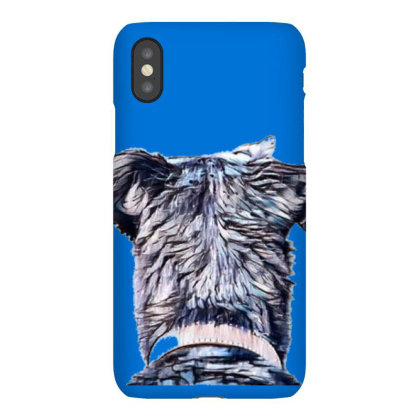 Back Of The Head Of A Terrier Iphonex Case Designed By Kemnabi