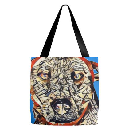 Large Mixed Shepherd Breed Do Tote Bags Designed By Kemnabi