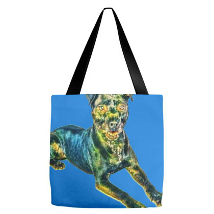 Black Labrador Retriever Mixe Tote Bags Designed By Kemnabi