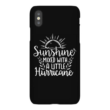 Sunshine Mixed With A Little Hurricane Iphonex Case Designed By Palm Tees