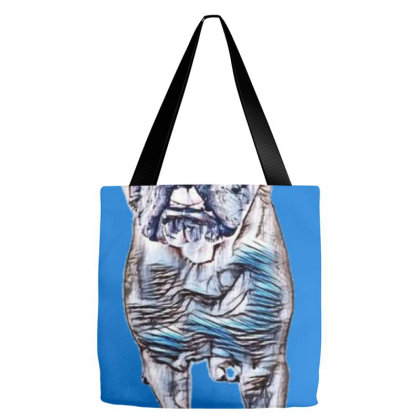 Cute English Bulldog Breed Do Tote Bags Designed By Kemnabi