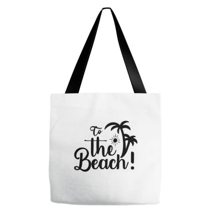 To The Beach Tote Bags Designed By Palm Tees