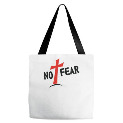No Fear Funny Cross Tote Bags Designed By Erishirt