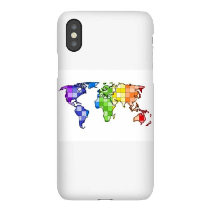 World In Rainbow Iphonex Case Designed By Breeze221b