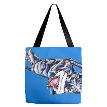Funny And Playful Young Labra Tote Bags Designed By Kemnabi