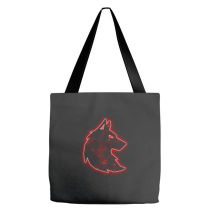 Wolf Tote Bags Designed By Dark Omega