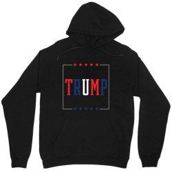 Donald Trump President 2020 - USA Flag Gift Political Unisex Hoodie   Artistshot
