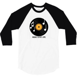 Music 3/4 Sleeve Shirt | Artistshot