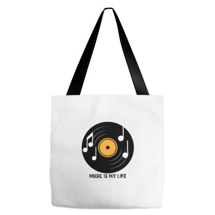 Music Tote Bags Designed By Taxil