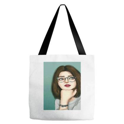 Cute Girl Tote Bags Designed By @sanjana11