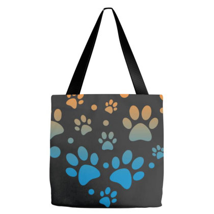 Paw Heart Tote Bags Designed By Sengul