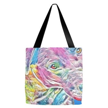 Cute Young Labrador Retriever Tote Bags Designed By Kemnabi