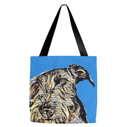 Dog With Funny Angry Expressi Tote Bags Designed By Kemnabi