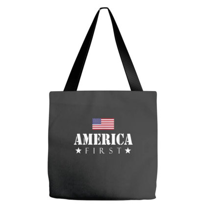 America First Tote Bags Designed By Amber Petty