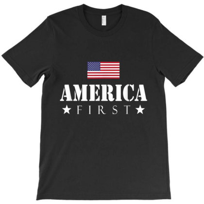 America First T-shirt Designed By Amber Petty