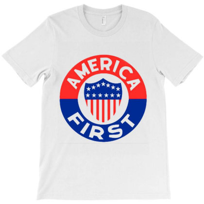 America First T Shirt T-shirt Designed By Amber Petty