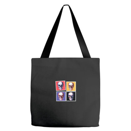 Smiling Skull Tote Bags Designed By Chiks