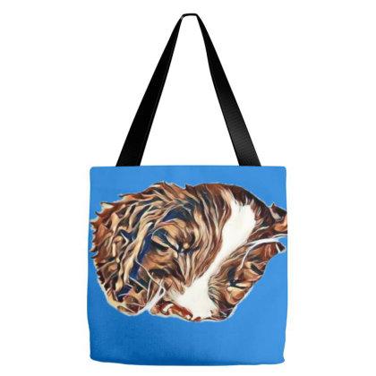 Closeup Of Cute English Sprin Tote Bags Designed By Kemnabi