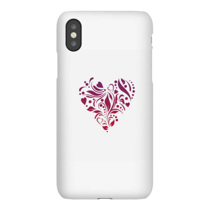 Heart Vector Iphonex Case Designed By Chiks