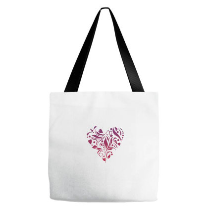 Heart Vector Tote Bags Designed By Chiks