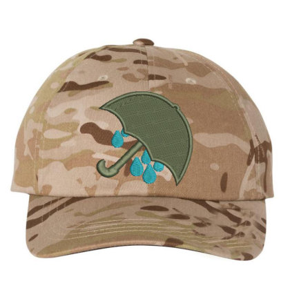 Umbrella Embroidered Hat Embroidered Dad Cap Designed By Madhatter