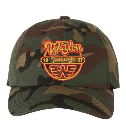 Waylon Embroidered Hat Embroidered Dad Cap Designed By Madhatter