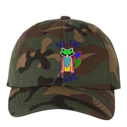 All The I Give Embroidered Hat Embroidered Dad Cap Designed By Madhatter