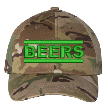Beers Embroidered Hat Embroidered Dad Cap Designed By Madhatter