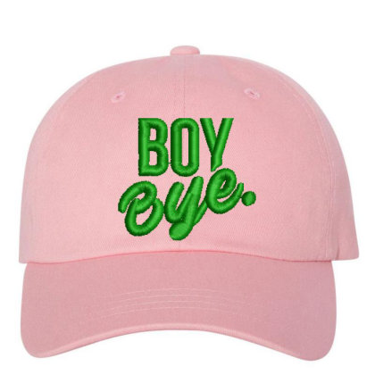 Boy Bye Embroidered Hat Embroidered Dad Cap Designed By Madhatter