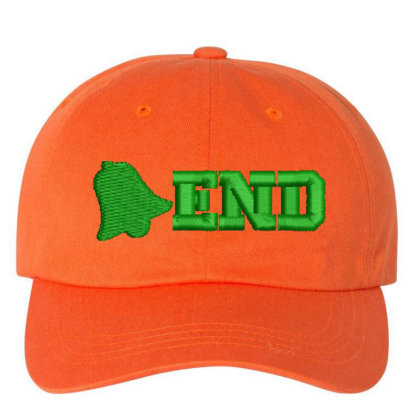 End Embroidered Hat Embroidered Dad Cap Designed By Madhatter