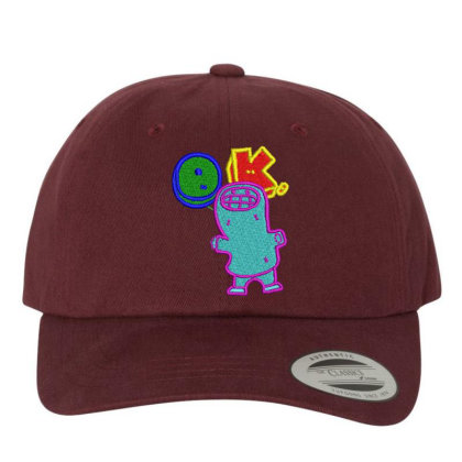 Okay World Embroidered Hat Embroidered Dad Cap Designed By Madhatter