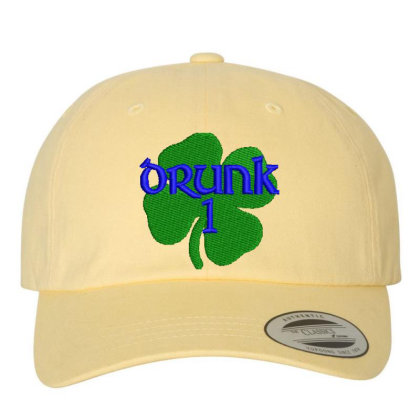 Drunk Irish Embroidered Hat Embroidered Dad Cap Designed By Madhatter