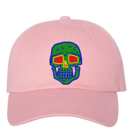 Skull Embroidered Hat Embroidered Dad Cap Designed By Madhatter