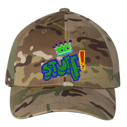 King Stuff Embroidered Hat Embroidered Dad Cap Designed By Madhatter