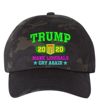 Trump 2020 Embroidered Hat Embroidered Dad Cap Designed By Madhatter