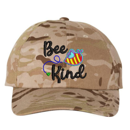 Bee King Embroidered Hat Embroidered Dad Cap Designed By Madhatter