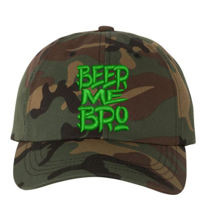 Beer Me Bro Embroidered Hat Embroidered Dad Cap Designed By Madhatter