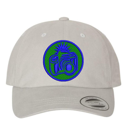 Camera Embroidered Hat Embroidered Dad Cap Designed By Madhatter