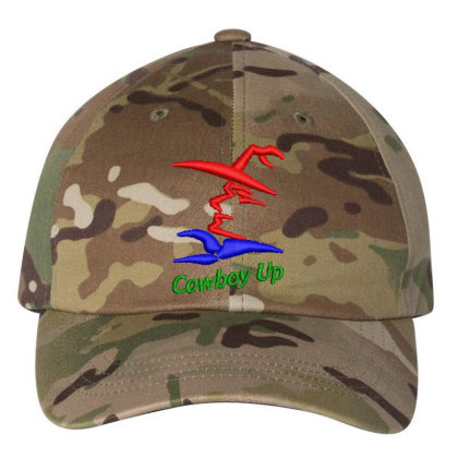 Cowboy Embroidered Hat Embroidered Dad Cap Designed By Madhatter