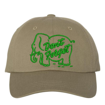 Don't Forget Embroidered Hat Embroidered Dad Cap Designed By Madhatter