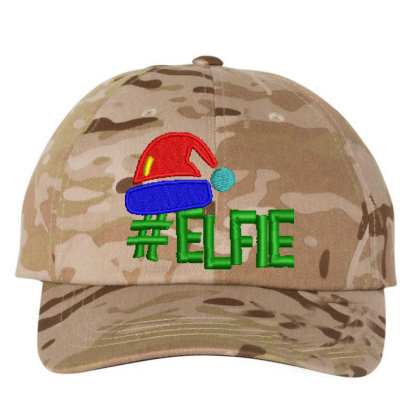 #elfie Embroidered Hat Embroidered Dad Cap Designed By Madhatter
