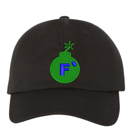 F * Embroidered Hat Embroidered Dad Cap Designed By Madhatter