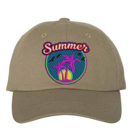 Summer Embroidered Hat Embroidered Dad Cap Designed By Madhatter
