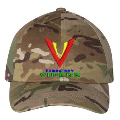Vipers Embroidered Hat Embroidered Dad Cap Designed By Madhatter