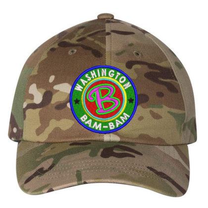 Washington Bam Bam Embroidered Hat Embroidered Dad Cap Designed By Madhatter