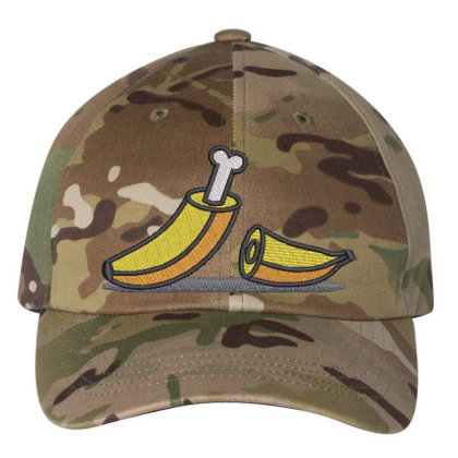 Banana Embroidered Hat Embroidered Dad Cap Designed By Madhatter